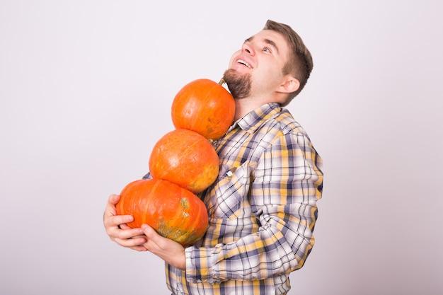 Праздник, осень и люди концепции