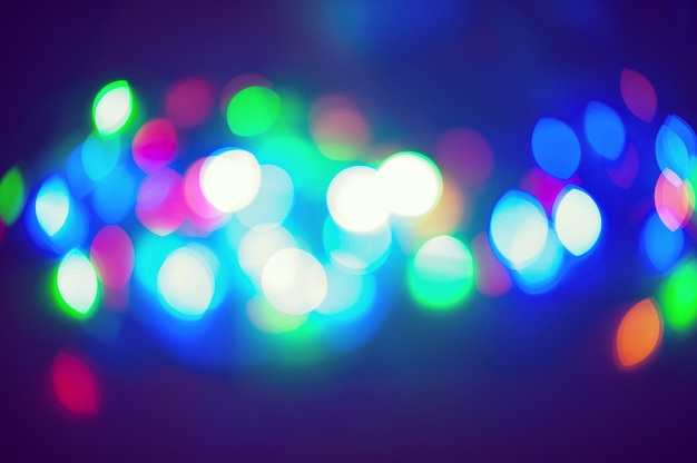 Holiday background bokeh colorful bright