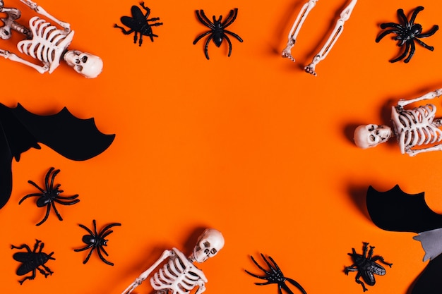 Holiday card, halloween horror story.