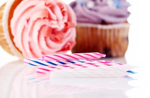 休日のカップケーキ