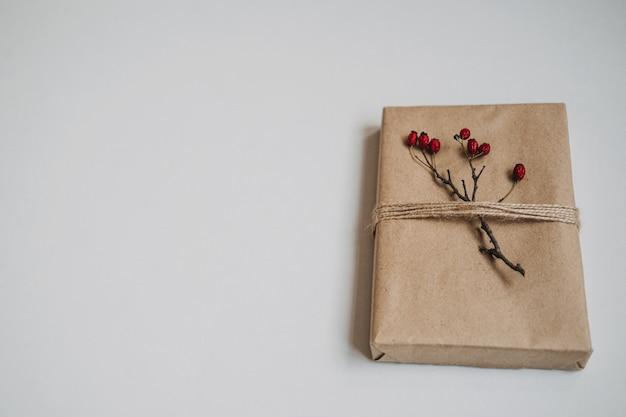 크리스마스 선물 아이디어 지속 가능한 크리스마스 제로 폐기물 선물 천연 크리스마스 장식 포장