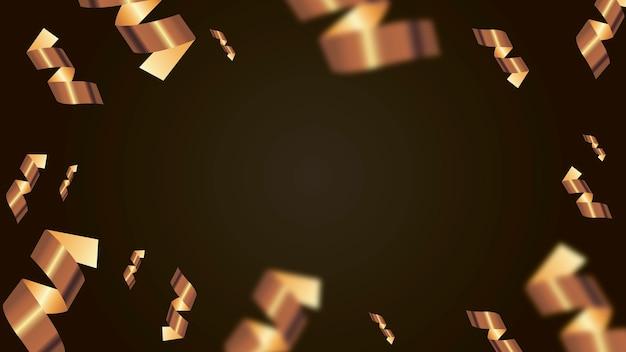 황금 뱀, 벡터 일러스트와 함께 휴일 배경입니다. 벡터 콘텐츠 제공