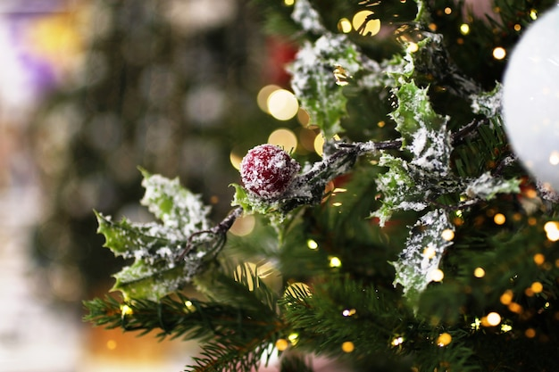 Holly berry decoration.christmas toys.