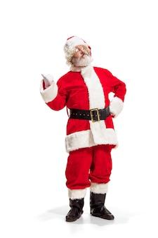 Холли веселый рождественский праздничный санта клаус