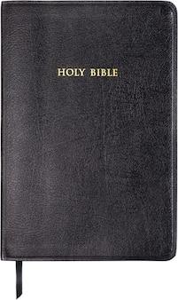 흰색 바탕에 성경 책