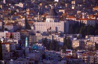 The holy city of nazareth in galilee, galilee