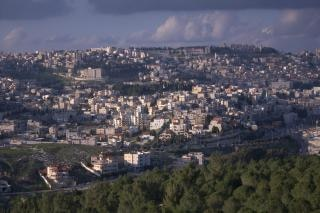 The holy city of nazareth in galilee