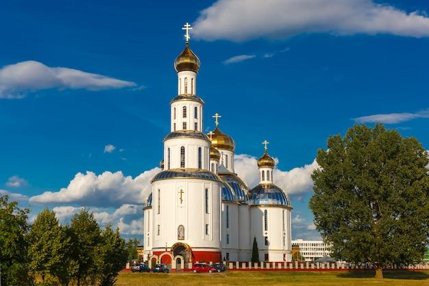 Holy resurrection cathedral in brest, belarus