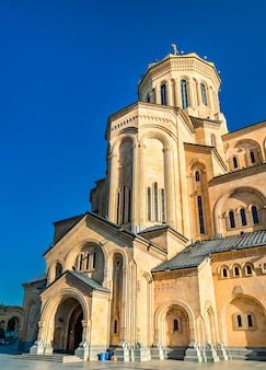 The holy trinity cathedral of tbilisi in georgia
