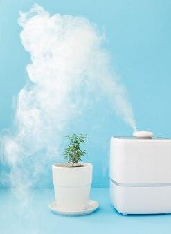Освежитель и увлажнитель воздуха для дома для очистки воздуха и увлажнения комнатных растений