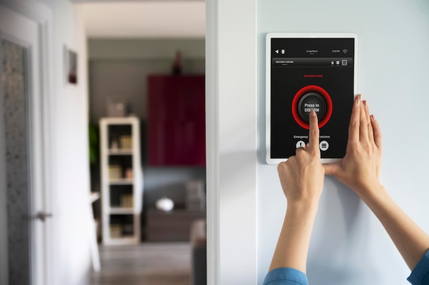 Home automation with device