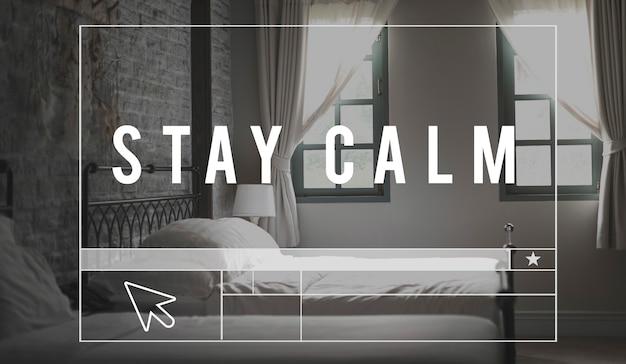 가정 침실 수면 평화 아침 말씀