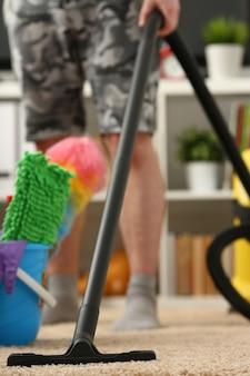 Home care for carpet vacuum cleane