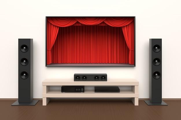 Home cinema set