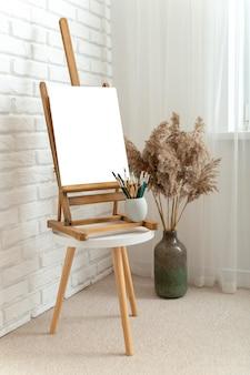 Home interior design with copy space