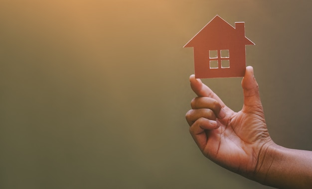 Home loans concept of having a dream home.