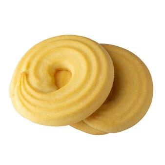 홈 흰색 공간에 고립 된 갓 구운 된 땅콩 버터 쿠키를 만든.