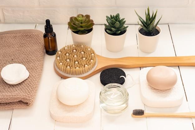 天然石鹸を使った自家製スパ化粧品