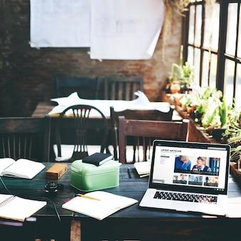 Концепция помещения в офисном офисе