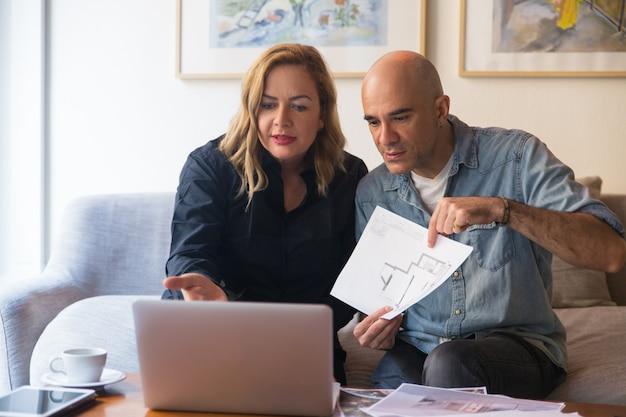 Владельцы дома консультируют дизайнера онлайн