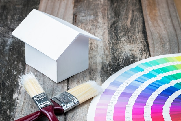 Home painting color design