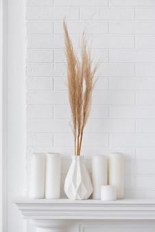 花瓶の装飾品の家の植物