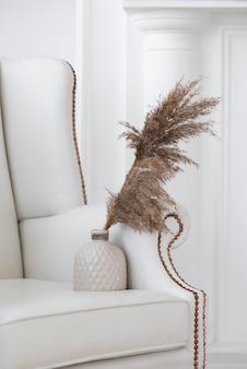 꽃병 장식 구색의 가정 식물