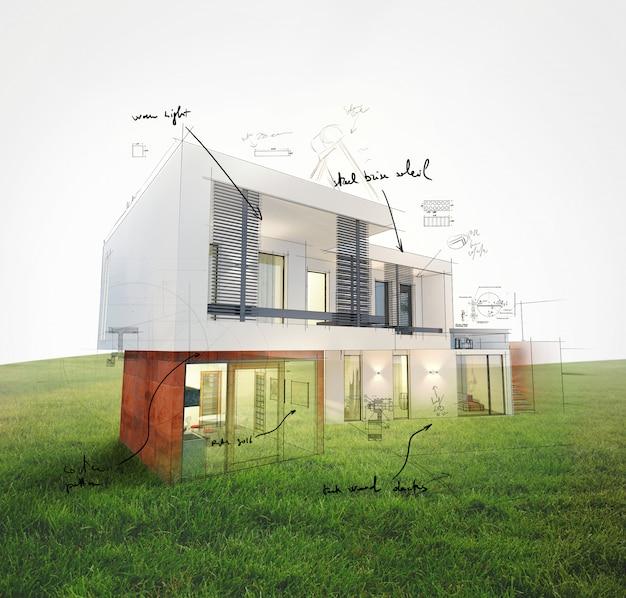 芝生のレンダリングに関するホームプロジェクト