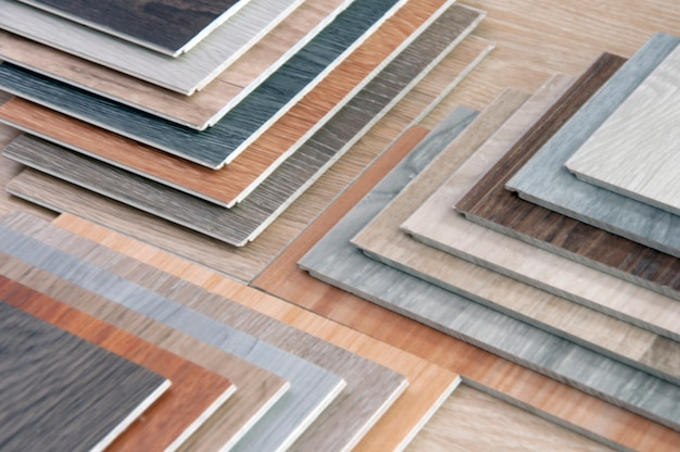 Home renovate with wood tile
