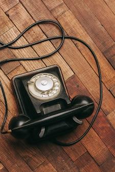 홈 레트로 전화 기술 통신 클래식 스타일 골동품
