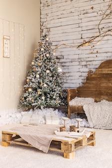 Домашнее пространство готово к рождеству