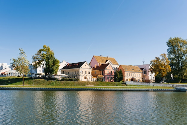 Home of the trinity suburb and the svislach river