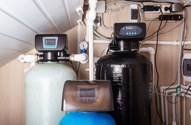 가정용 정수 필터 연수 시스템 정수