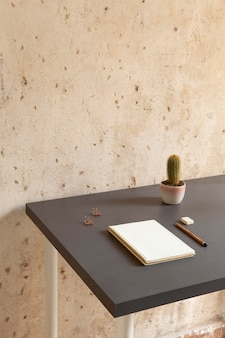 Home workspace minimalistic design