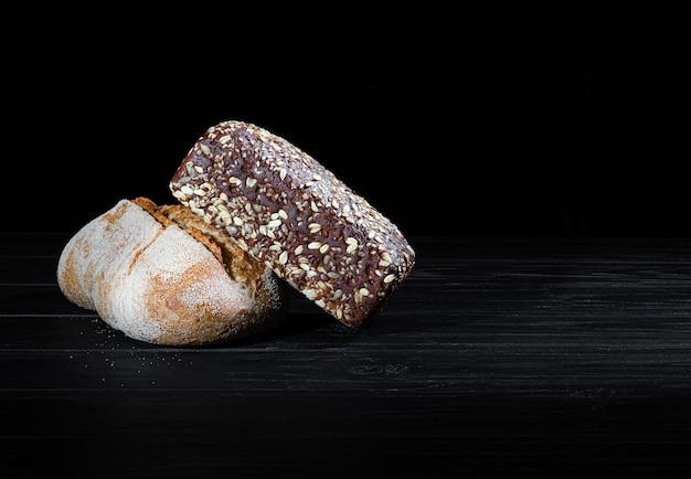自家製パン。シリアルパウダー、グルテンフリー。