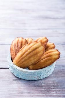Homemade anise cookies madeleine