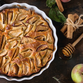 Homemade apple cke