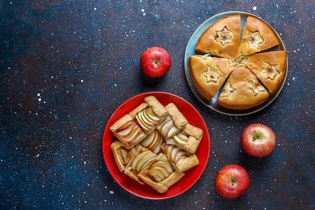Torta di mele fatta in casa, torta e galette