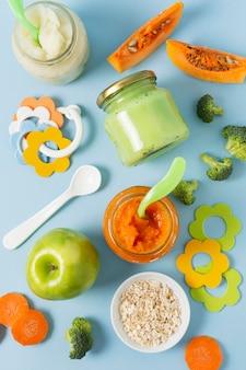 Домашнее детское питание плоской планировки