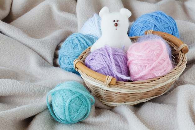 Homemade baby shoes, leisure time on pregnancy