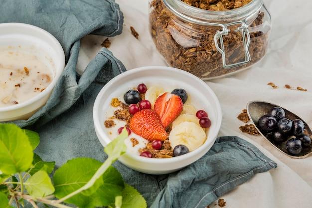 Домашний завтрак готов к употреблению