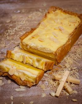Домашний сырный пирог с восхитительным вкусом