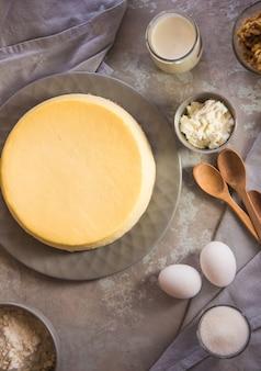 Домашний чизкейк. крем-сырный торт по-нью-йоркски