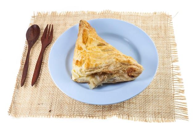 Домашний куриный пирог