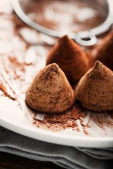 Домашний шоколадный трюфель