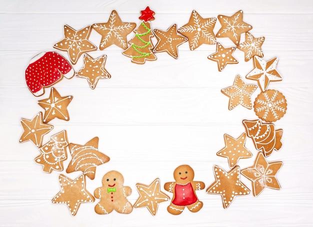 自家製のクリスマスクッキー