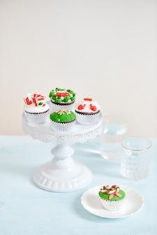 Домашний рождественский кекс