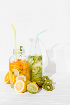 Homemade cool beverages