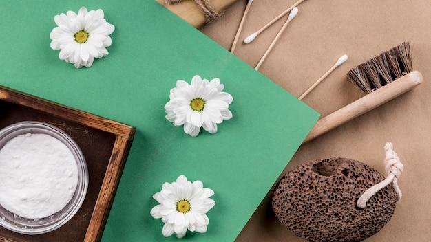 수제 에코 청소 제품 및 꽃