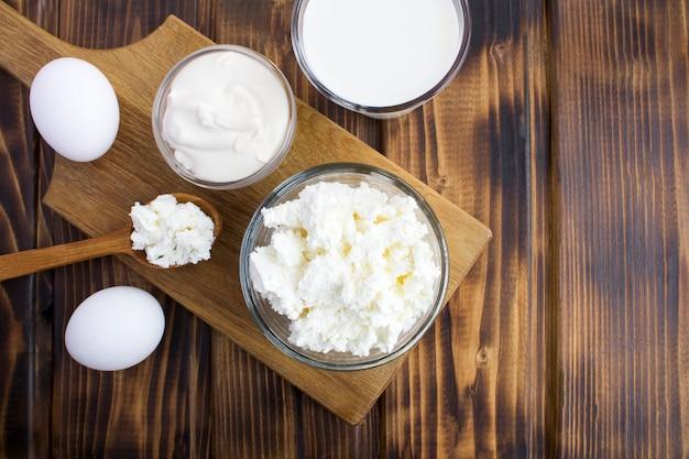 Домашние фермерские молочные продукты